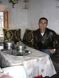 My new Moroccan friend Mohamed